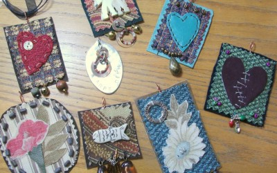 Art Pendant Class on Diva Day