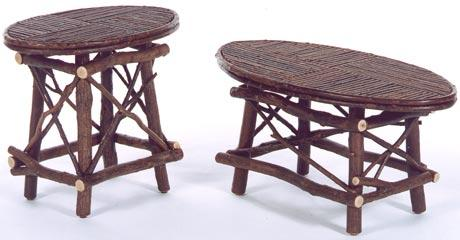 Frontier Oval End Table