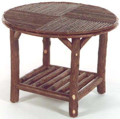 Backwoods Occasional Table with Lower Shelf