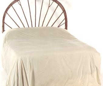Wagon Wheel Headboard