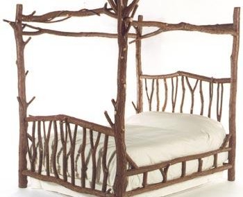 Backwoods Canopy Bed