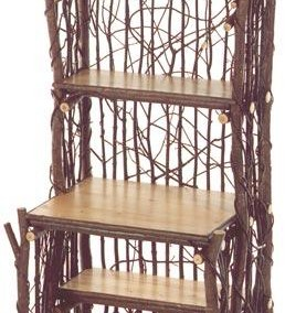 Brush Arbor Baker's Rack with Pine Shelves