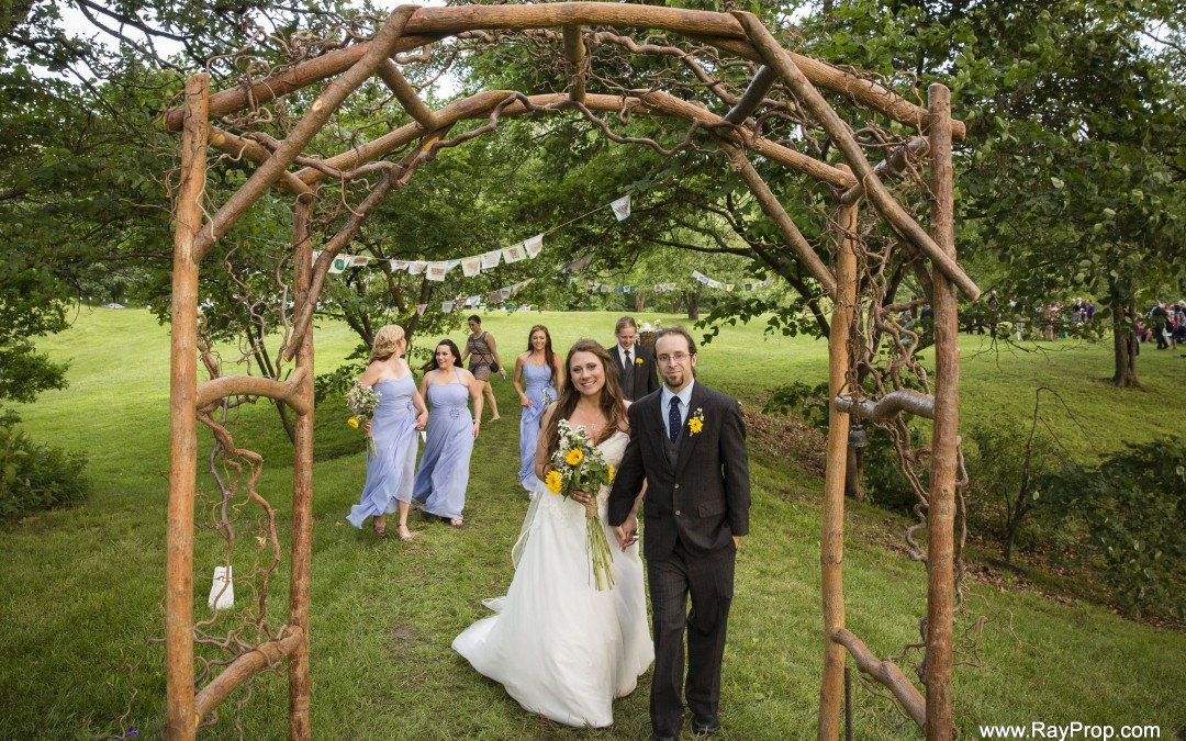 Custom Wedding Arbor