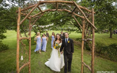 Custom Wedding Arbor